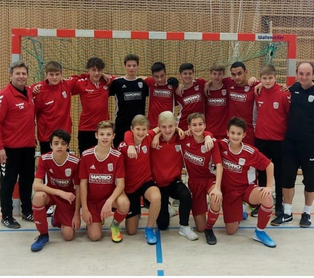 Die C-Jugend auf Erfolgskurs beim Futsal