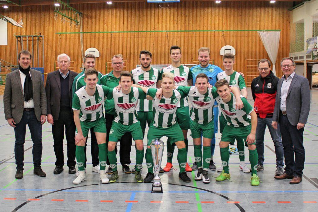 Siegerfoto des SV Schalding II
